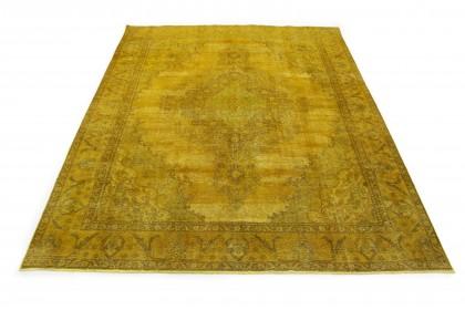 Vintage Teppich Gold in 390x290