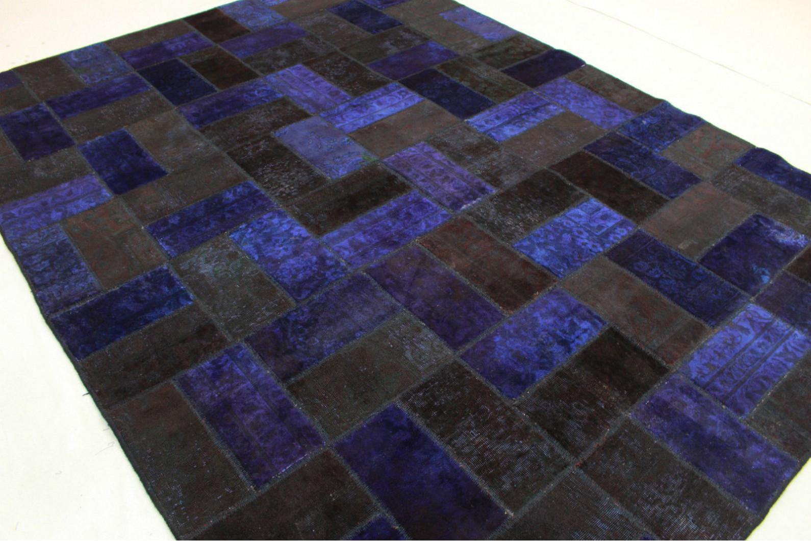 patchwork teppich lila in 320x240cm 1001 1679 bei. Black Bedroom Furniture Sets. Home Design Ideas