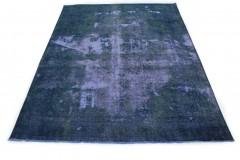 Vintage Teppich Blau in 400x300