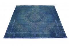 Vintage Teppich Blau in 280x310