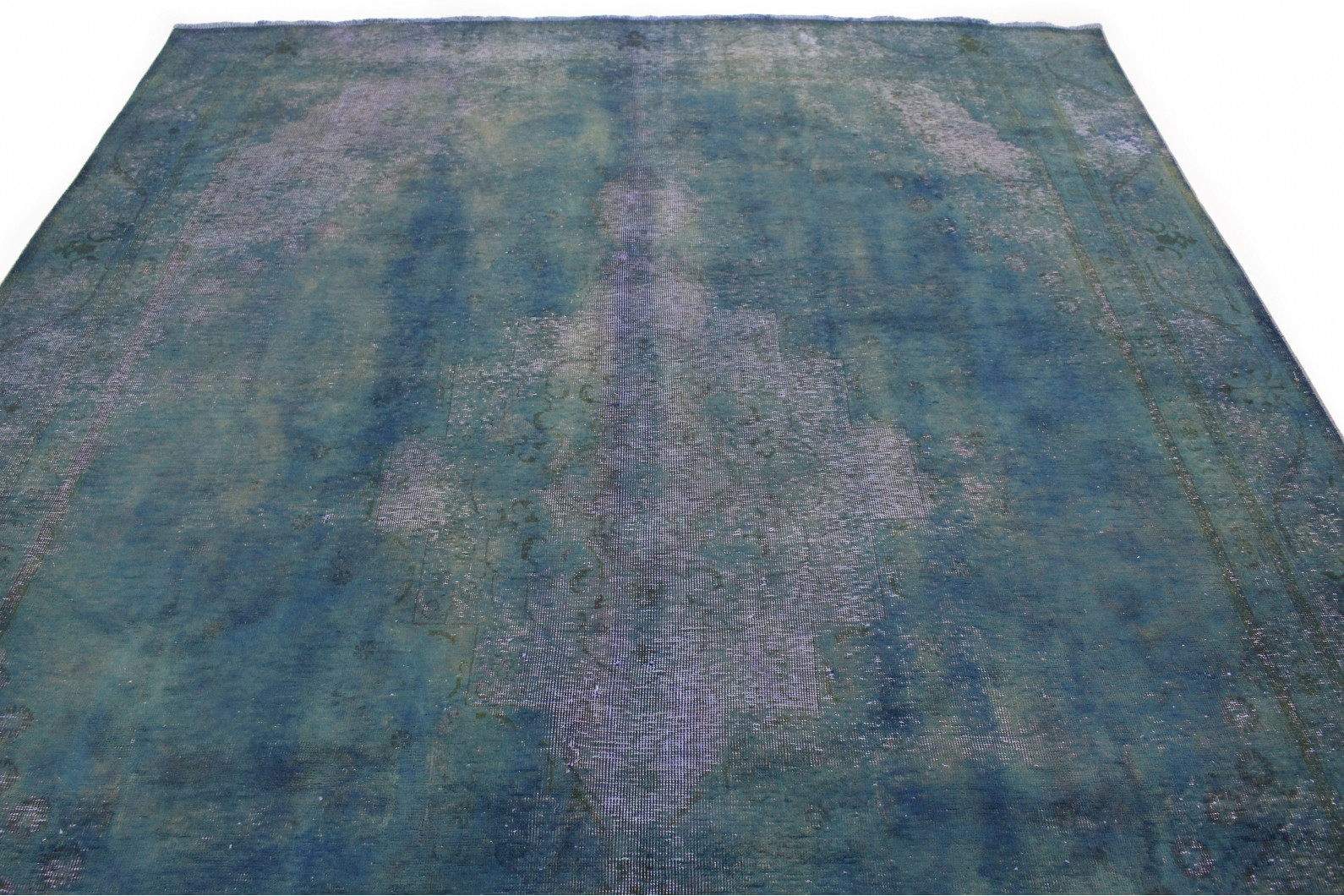 vintage teppich blau in 360x260 1001 177250 bei. Black Bedroom Furniture Sets. Home Design Ideas