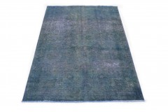 Vintage Teppich Blau in 280x180