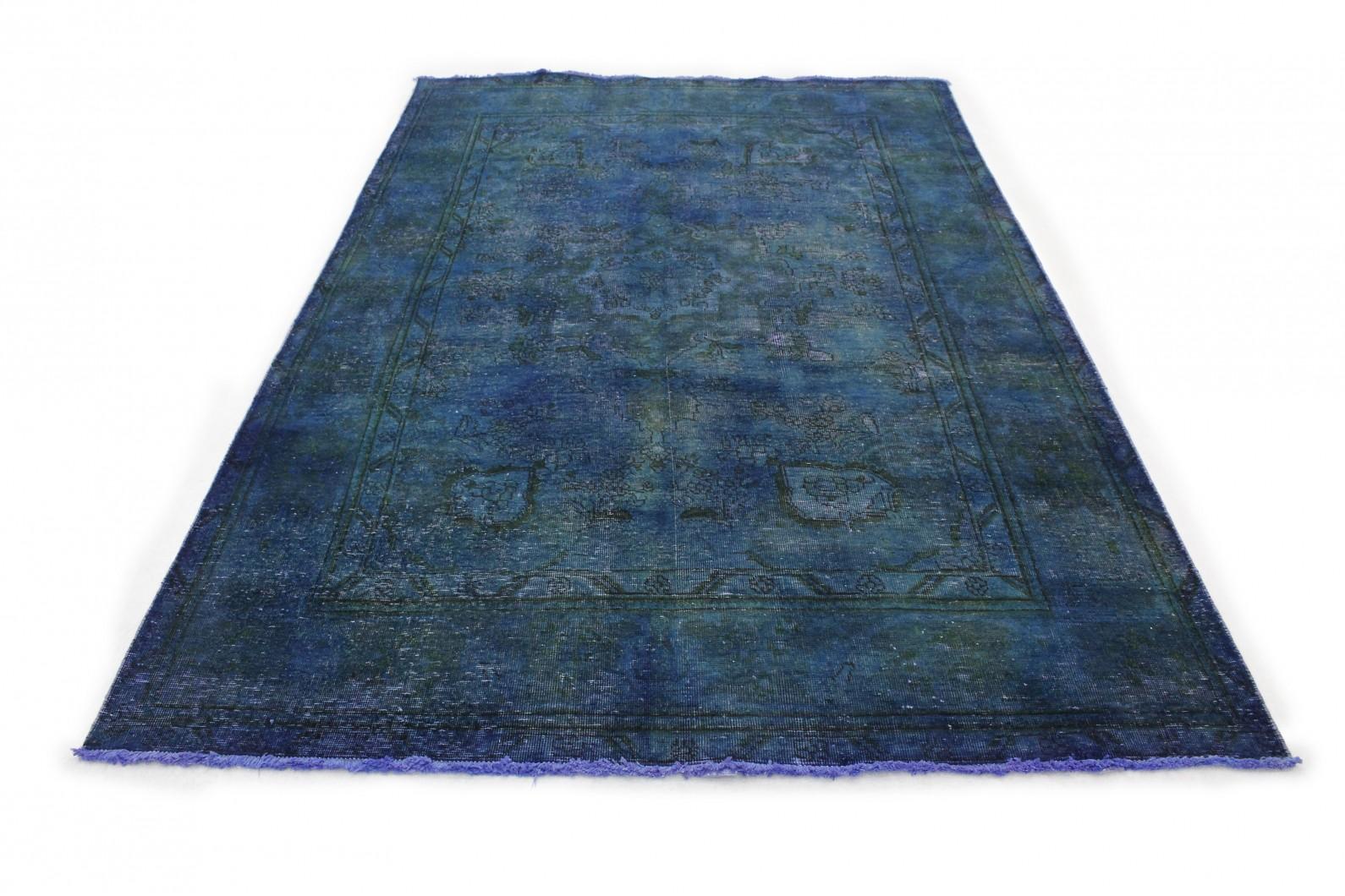 vintage teppich blau in 300x190 1001 177255 bei. Black Bedroom Furniture Sets. Home Design Ideas