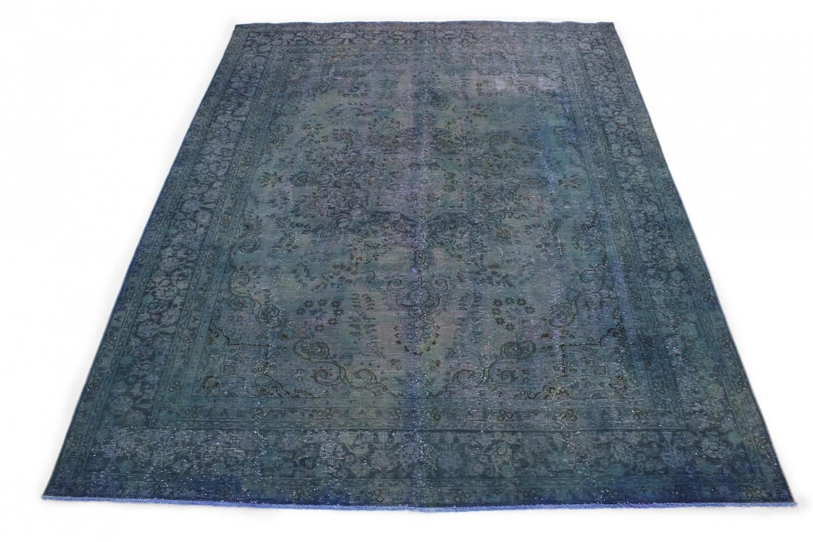 Vintage Teppich Blau in 380x290 (1 / 5)