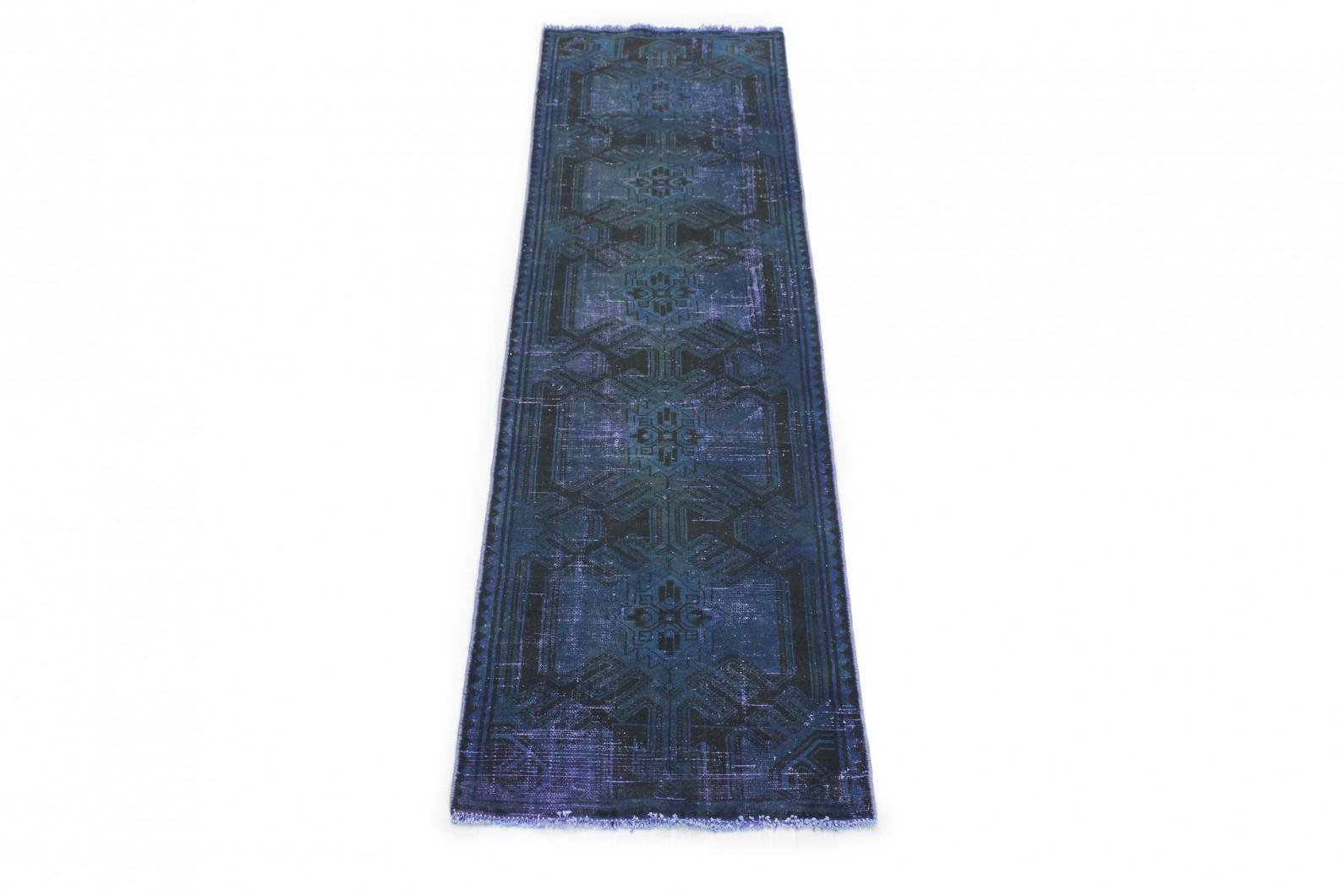 Vintage Teppich Laufer Blau In 300x80 1001 177257 Bei Carpetido De