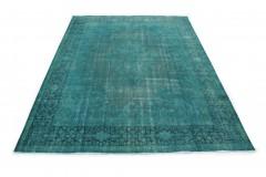 Vintage Teppich Türkis in 410x300