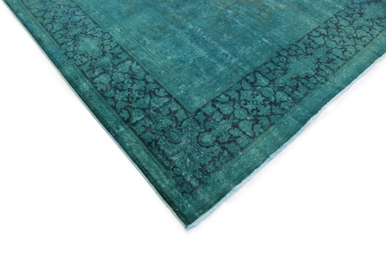 vintage teppich t rkis in 410x300 1001 177258 bei kaufen. Black Bedroom Furniture Sets. Home Design Ideas