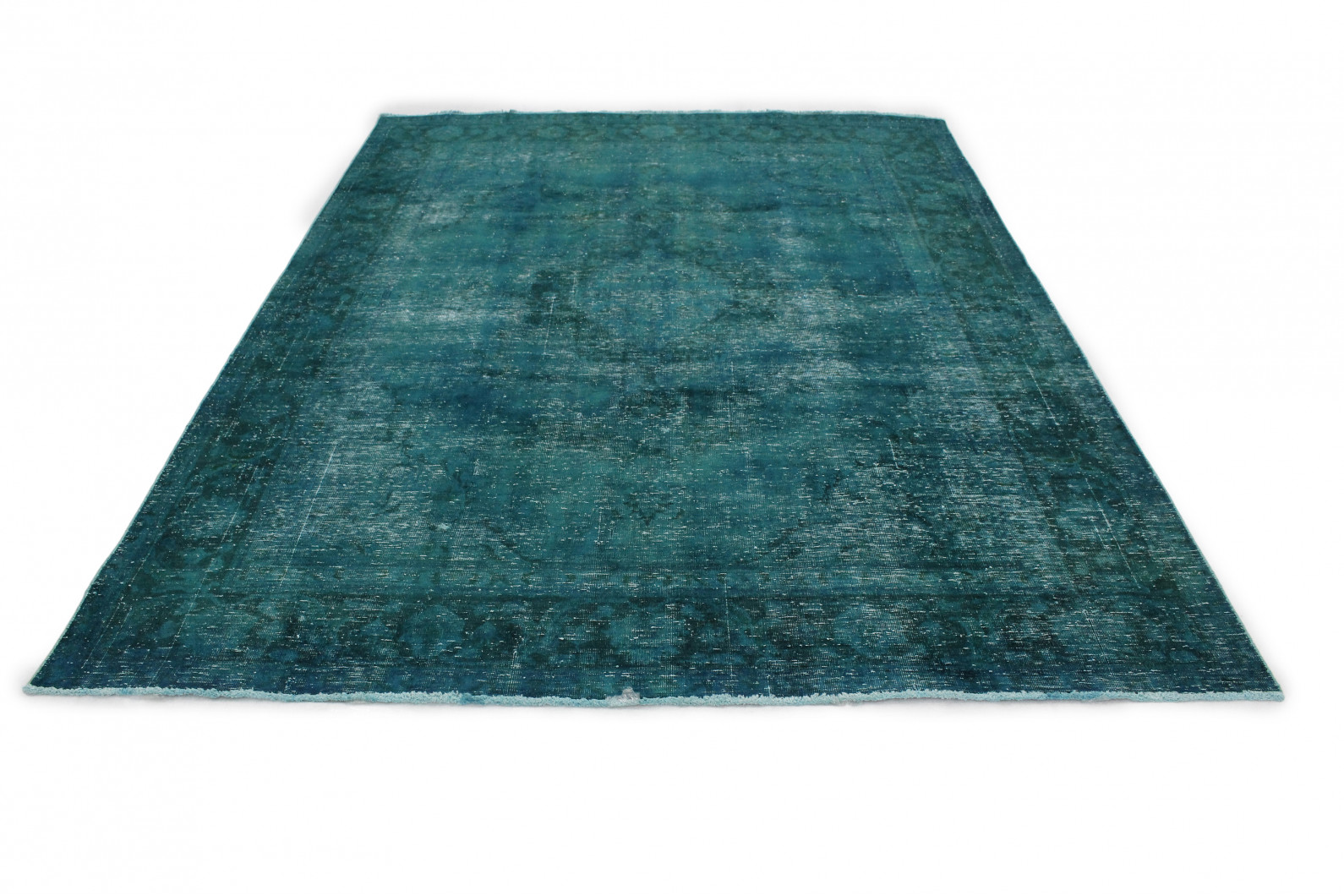 vintage teppich t rkis in 340x240 1001 177261 bei kaufen. Black Bedroom Furniture Sets. Home Design Ideas