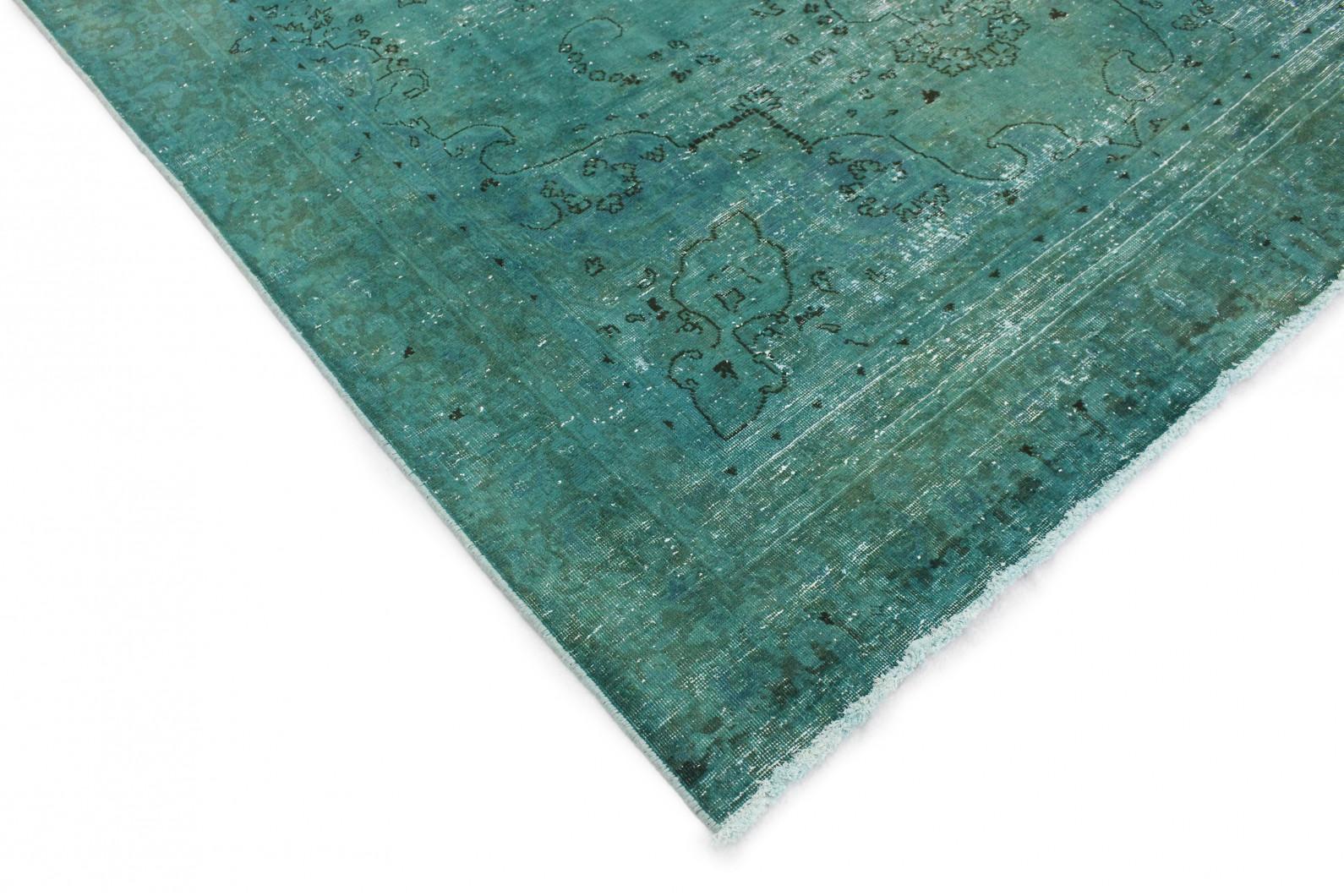 vintage teppich t rkis in 310x220 1001 177263 bei. Black Bedroom Furniture Sets. Home Design Ideas