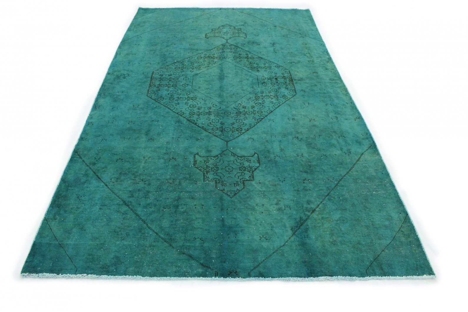 vintage teppich t rkis in 320x180 1001 177264 bei kaufen. Black Bedroom Furniture Sets. Home Design Ideas