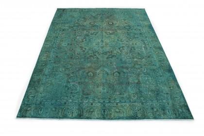 Vintage Teppich Grün in 360x270