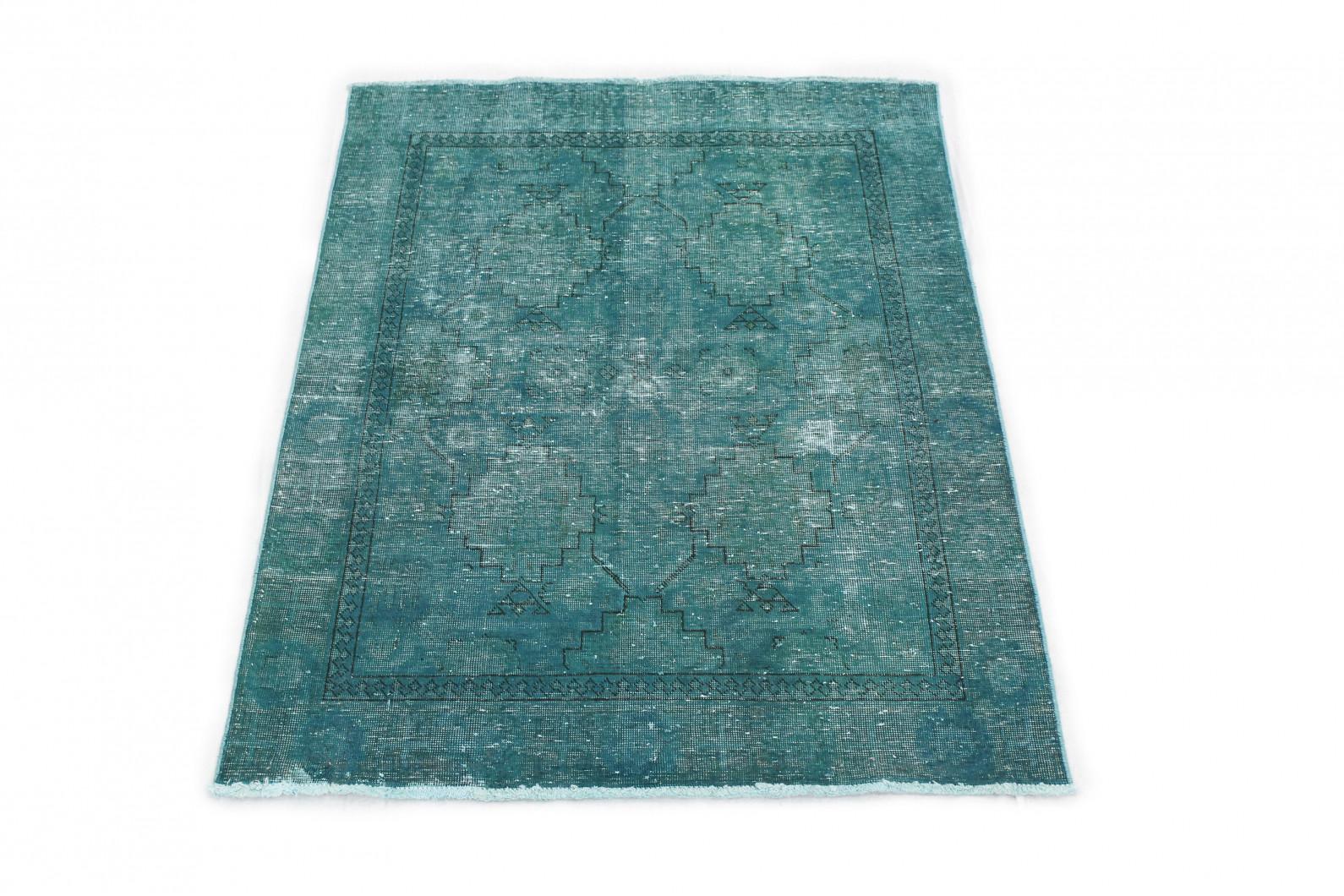 Vintage Teppich Grün in 180x130