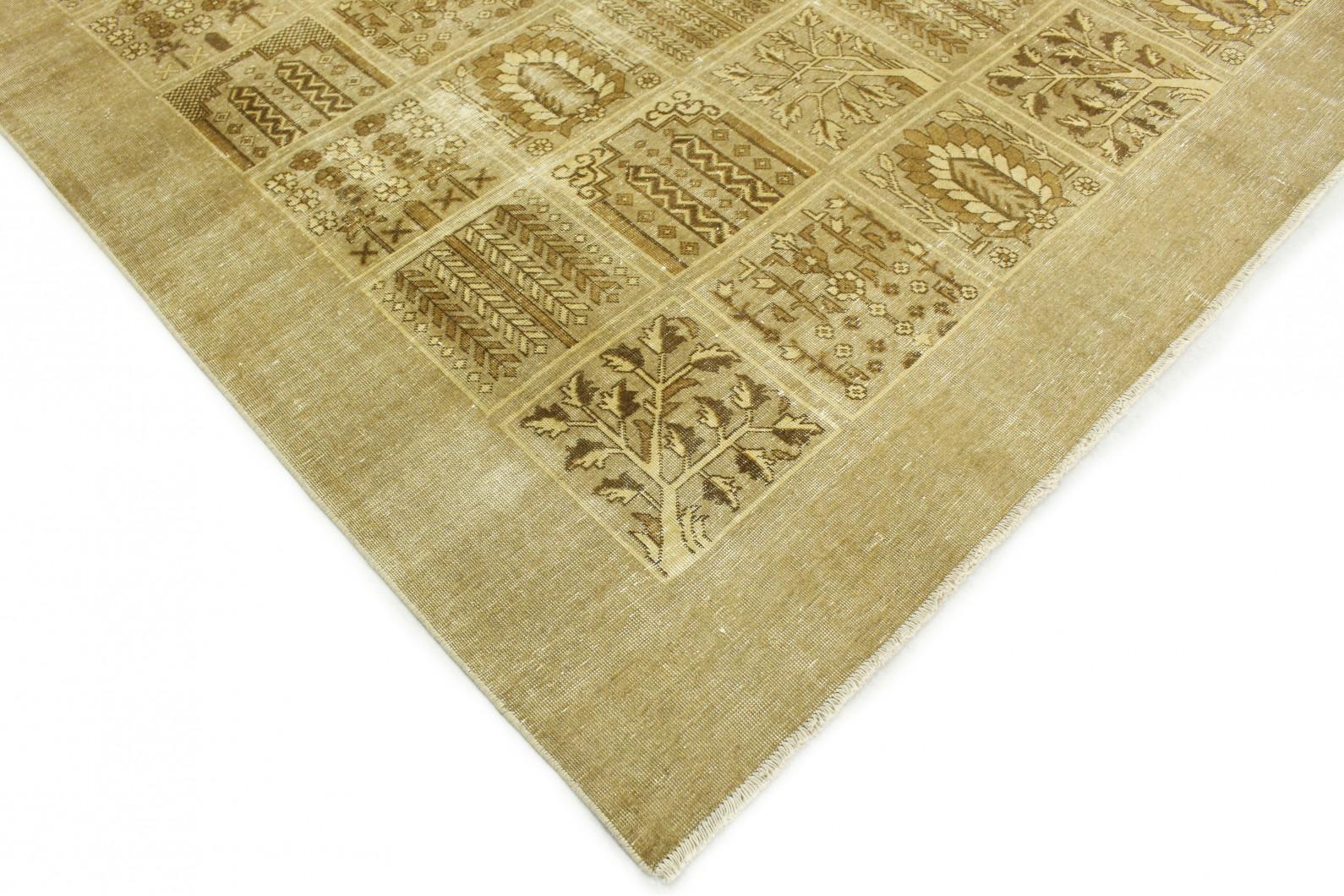 vintage teppich beige in 390x300 1001 177283 bei kaufen. Black Bedroom Furniture Sets. Home Design Ideas