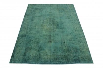 Vintage Teppich Türkis in 310x230