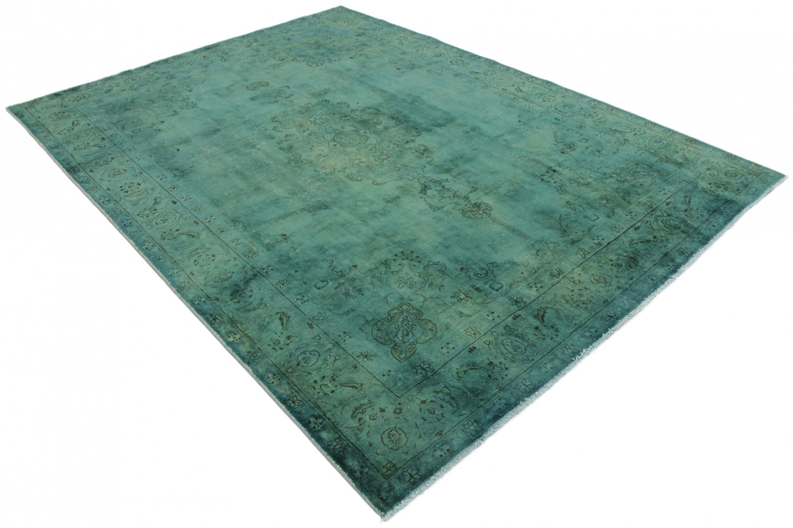 vintage teppich t rkis in 310x230 1001 177289 bei. Black Bedroom Furniture Sets. Home Design Ideas
