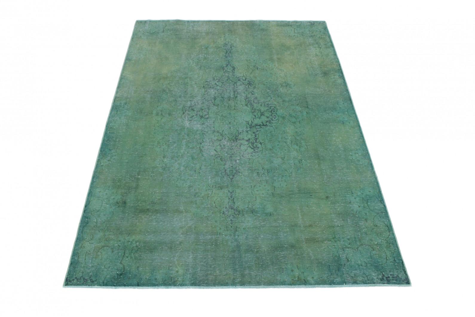 Vintage Teppich Grün in 290x200