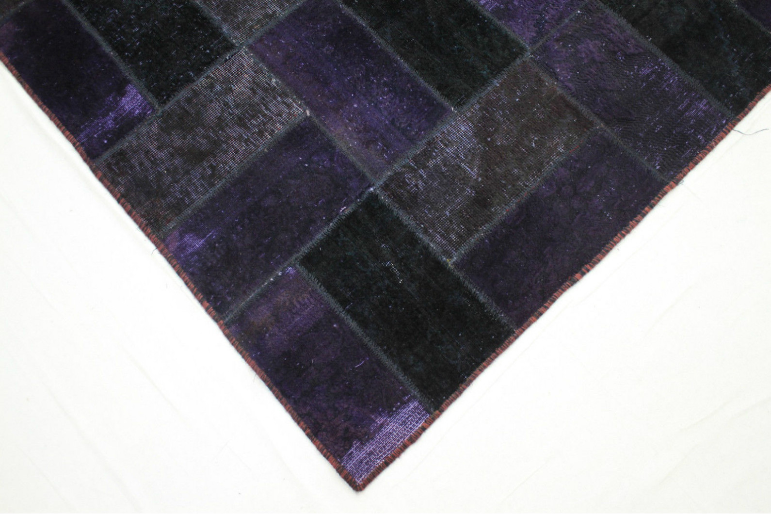 patchwork teppich lila in 320x240cm 1001 1829 bei. Black Bedroom Furniture Sets. Home Design Ideas