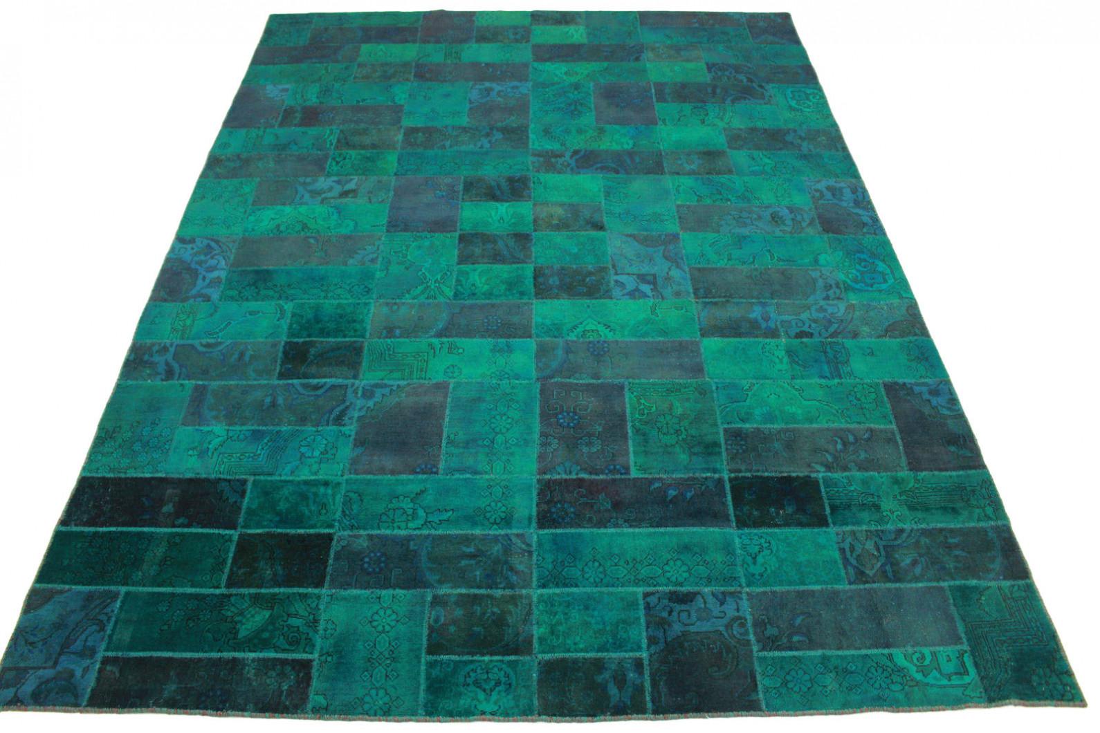 patchwork teppich blau t rkis in 400x300cm 1001 1843 bei. Black Bedroom Furniture Sets. Home Design Ideas