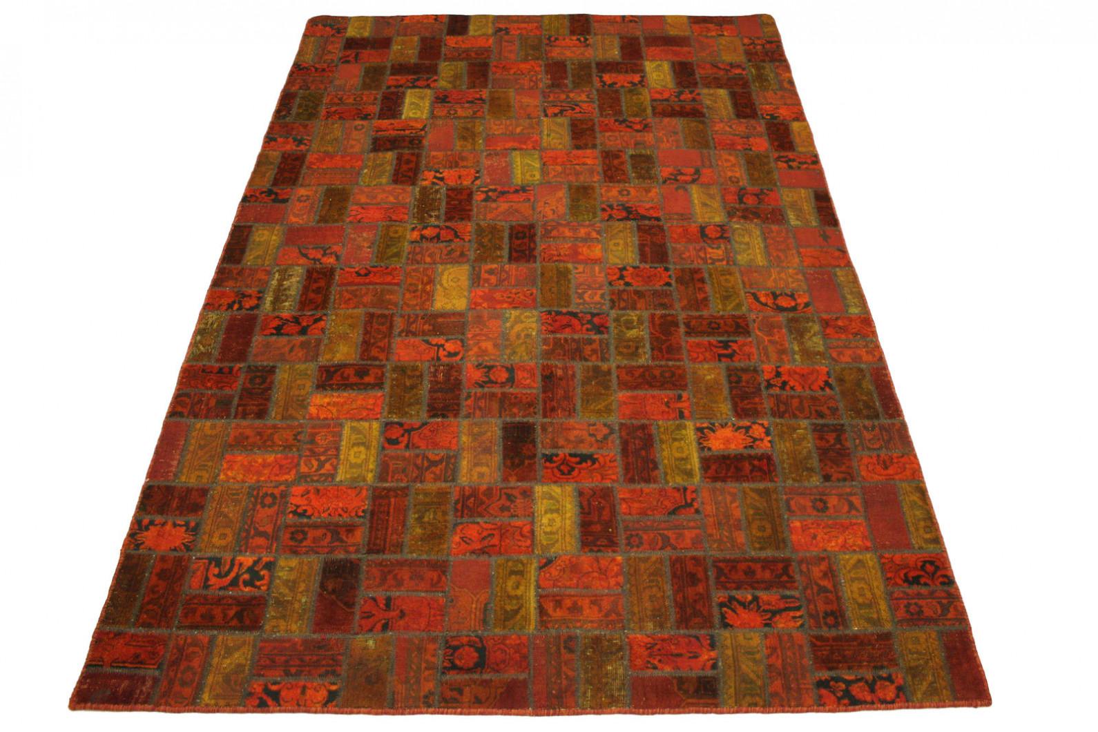 patchwork teppich rot in 310x200cm 1001 1867 bei kaufen. Black Bedroom Furniture Sets. Home Design Ideas