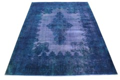 Vintage Rug Blue Purple in 390x300