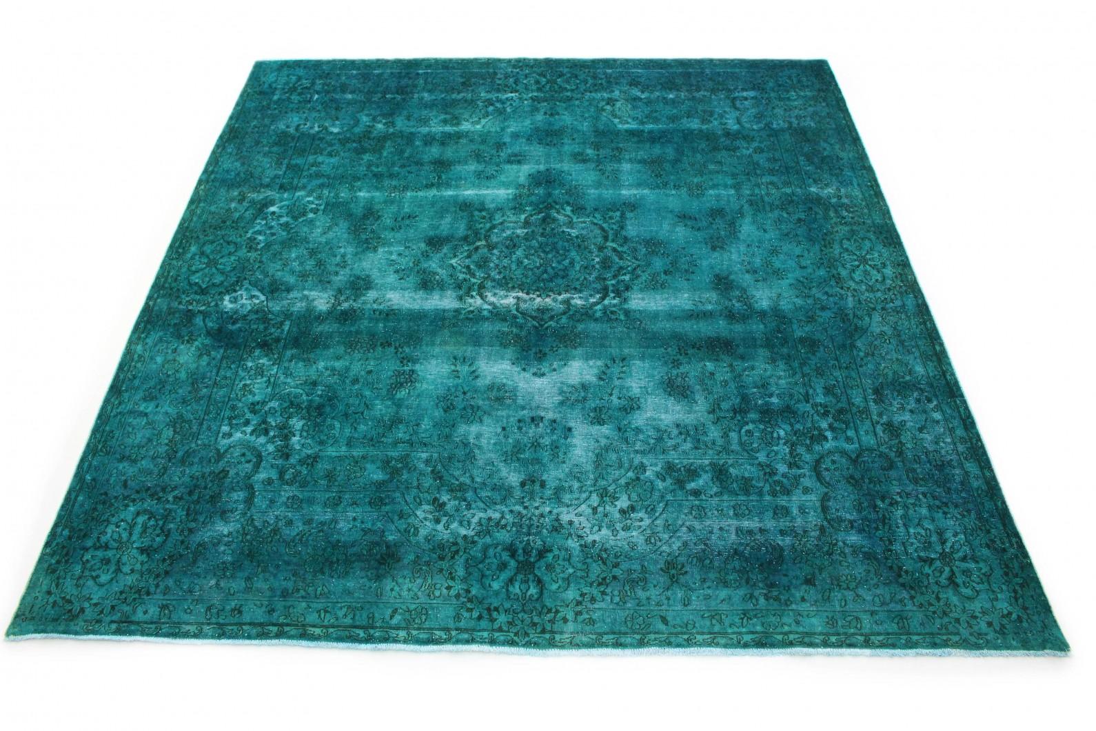 Vintage Teppich Türkis in 310x300 (1 / 7)