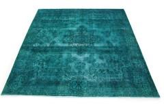 Vintage Teppich Türkis in 310x300