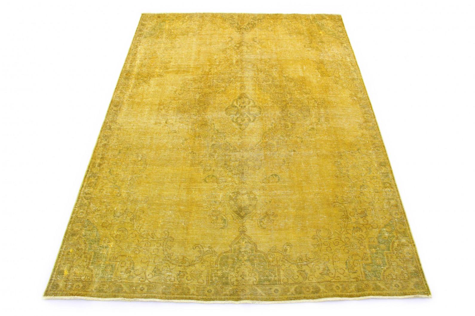Vintage Teppich Gold Gelb in 320x230 (1 / 7)