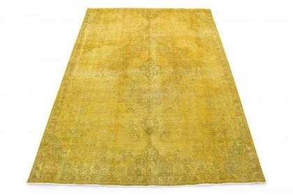 Vintage Teppich Gold Gelb in 320x230