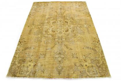 Vintage Teppich Gelb Beige in 240x170