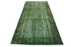 Vintage Teppich Grün in 320x150