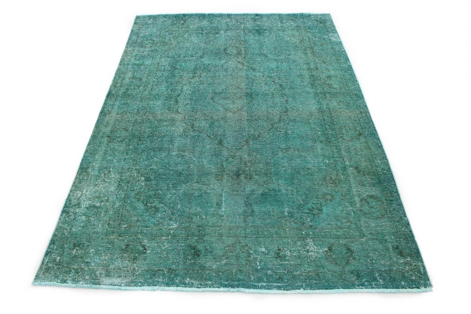 Vintage Teppich Türkis in 290x200 (1 / 6)