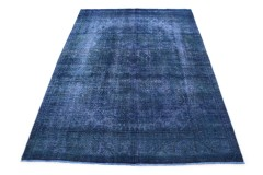 Vintage Teppich Blau in 290x200