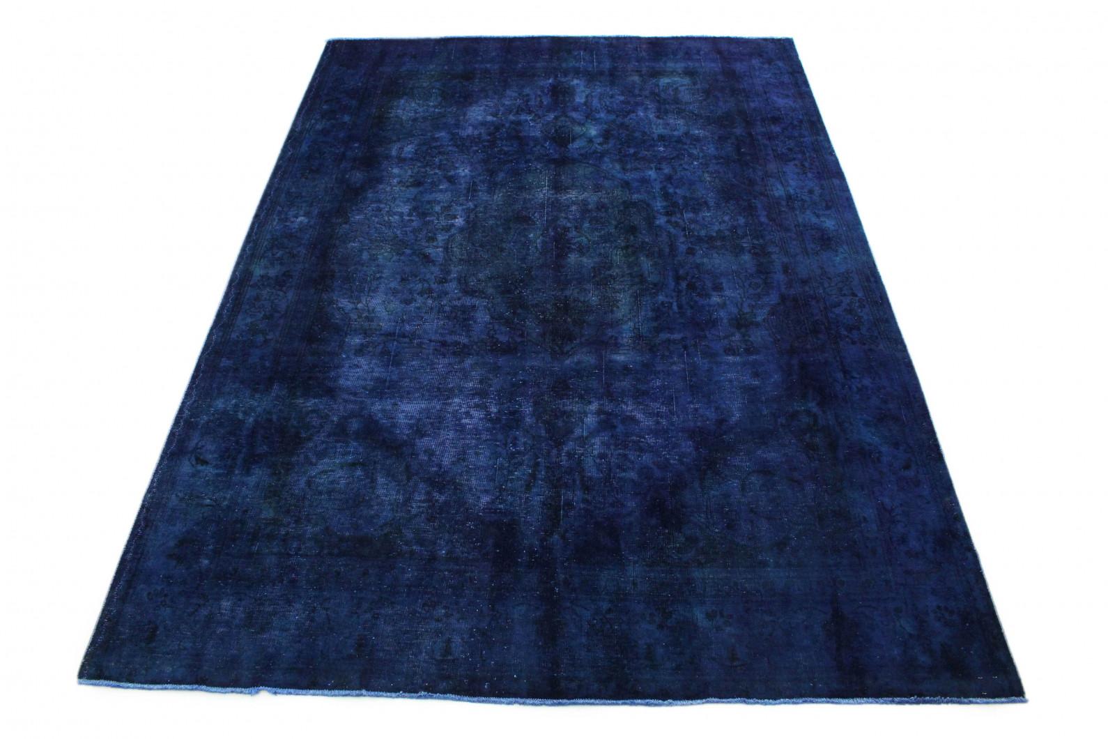 Vintage Teppich Blau Lila in 340x240 (1 / 5)