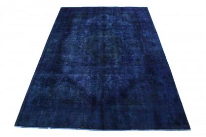 Vintage Teppich Blau Lila in 340x240