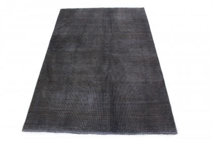 Vintage Teppich Grau Schlamm in 190x130