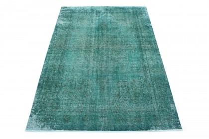 Vintage Teppich Türkis in 290x200