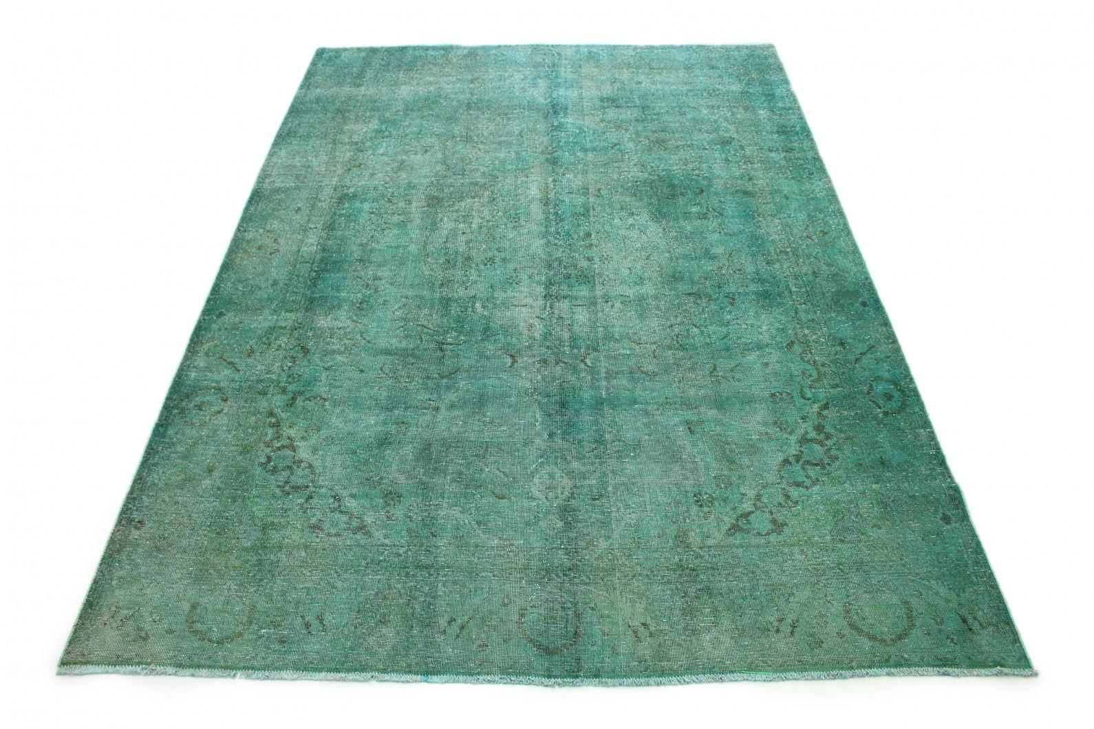 Vintage Teppich Türkis in 330x230 (1 / 6)