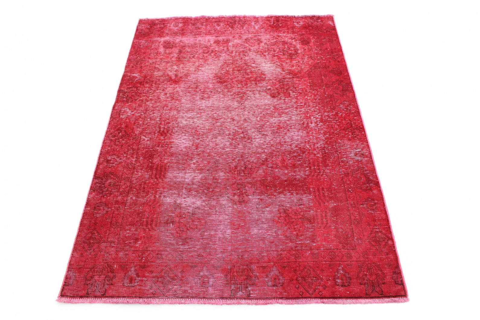 Vintage Teppich Rot in 180x130 (1 / 4)