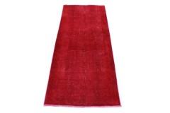 Vintage Teppich Läufer Rot in 200x80