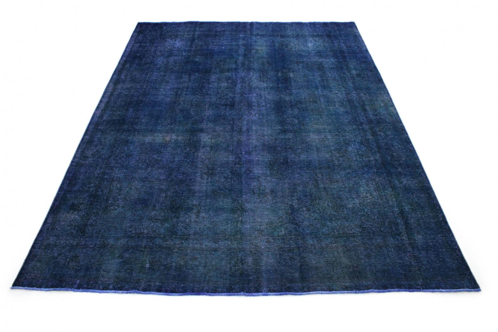 Vintage Teppich Blau in 410x310 (1 / 6)