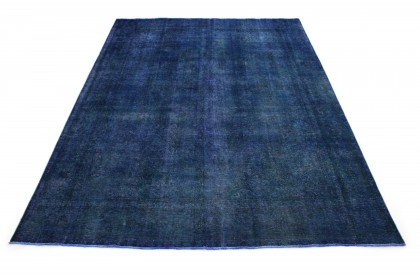 Vintage Teppich Blau in 410x310