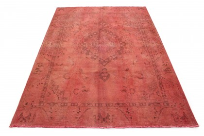 Vintage Teppich Rot Rosa in 320x230