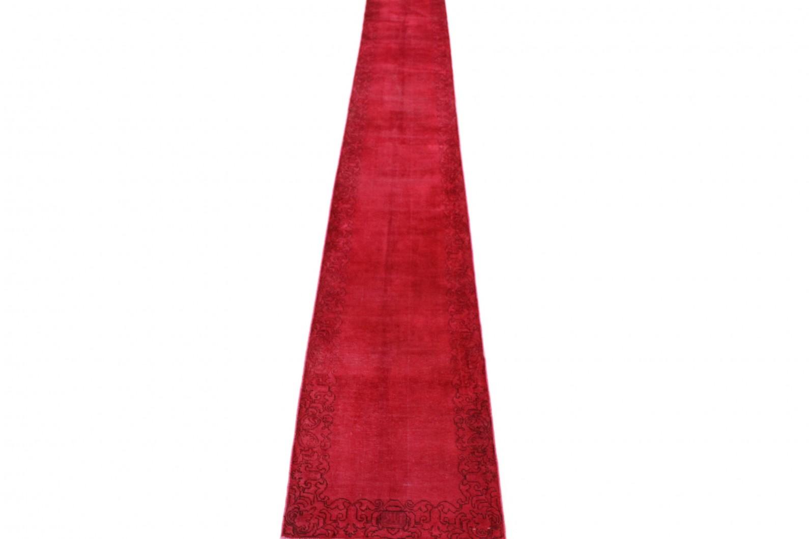 Vintage Teppich Läufer Rot in 510x70 (1 / 5)