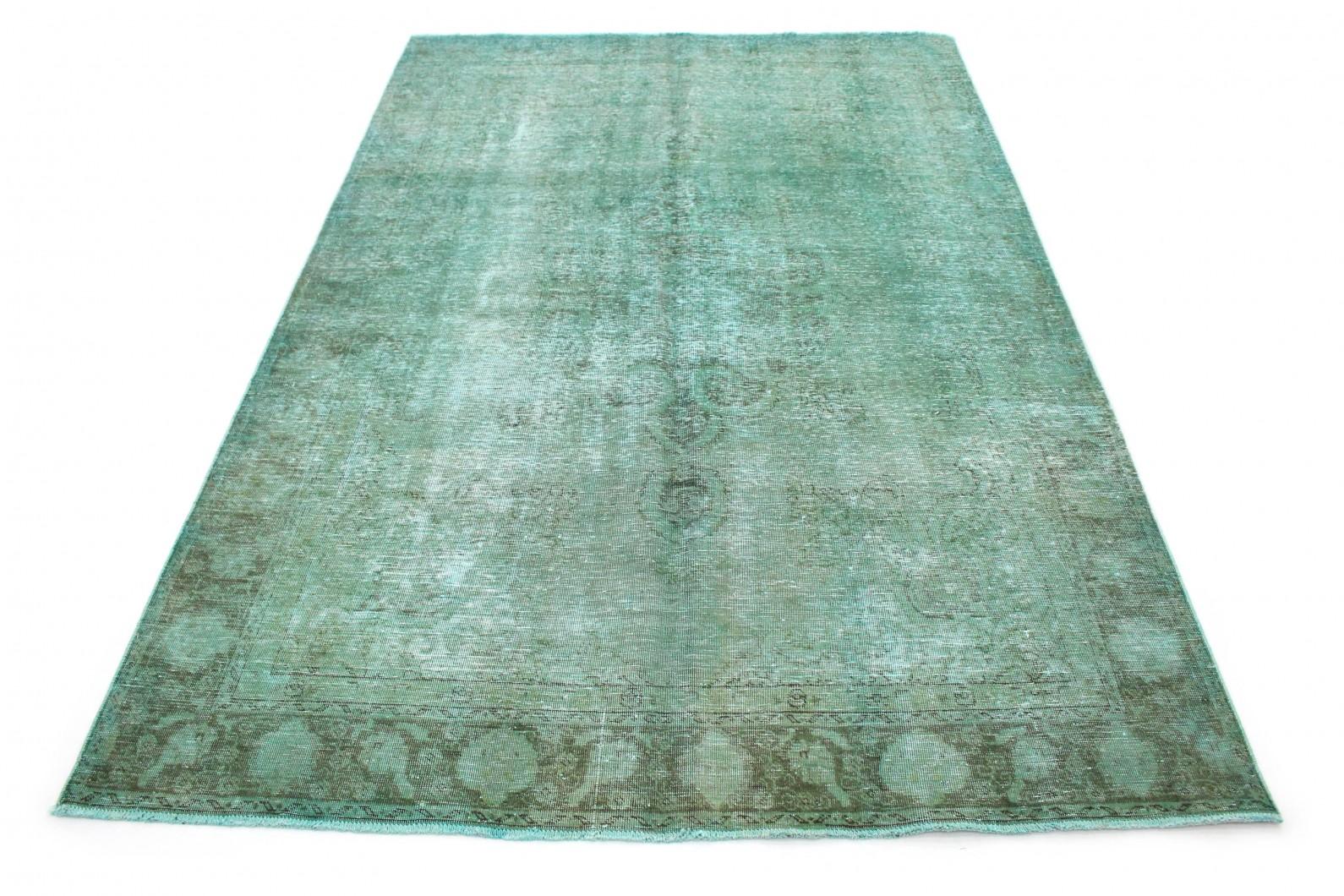 Vintage Teppich Türkis in 340x230 (1 / 6)