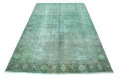 Vintage Teppich Türkis in 340x230