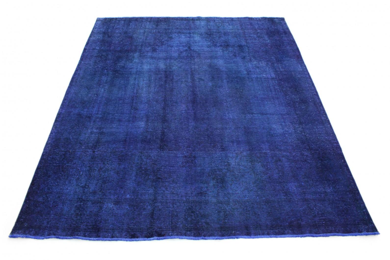 Vintage Teppich Lila Blau in 350x300 (1 / 6)