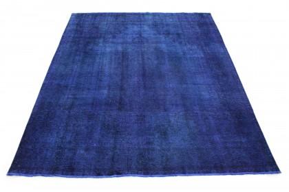 Vintage Teppich Lila Blau in 350x300