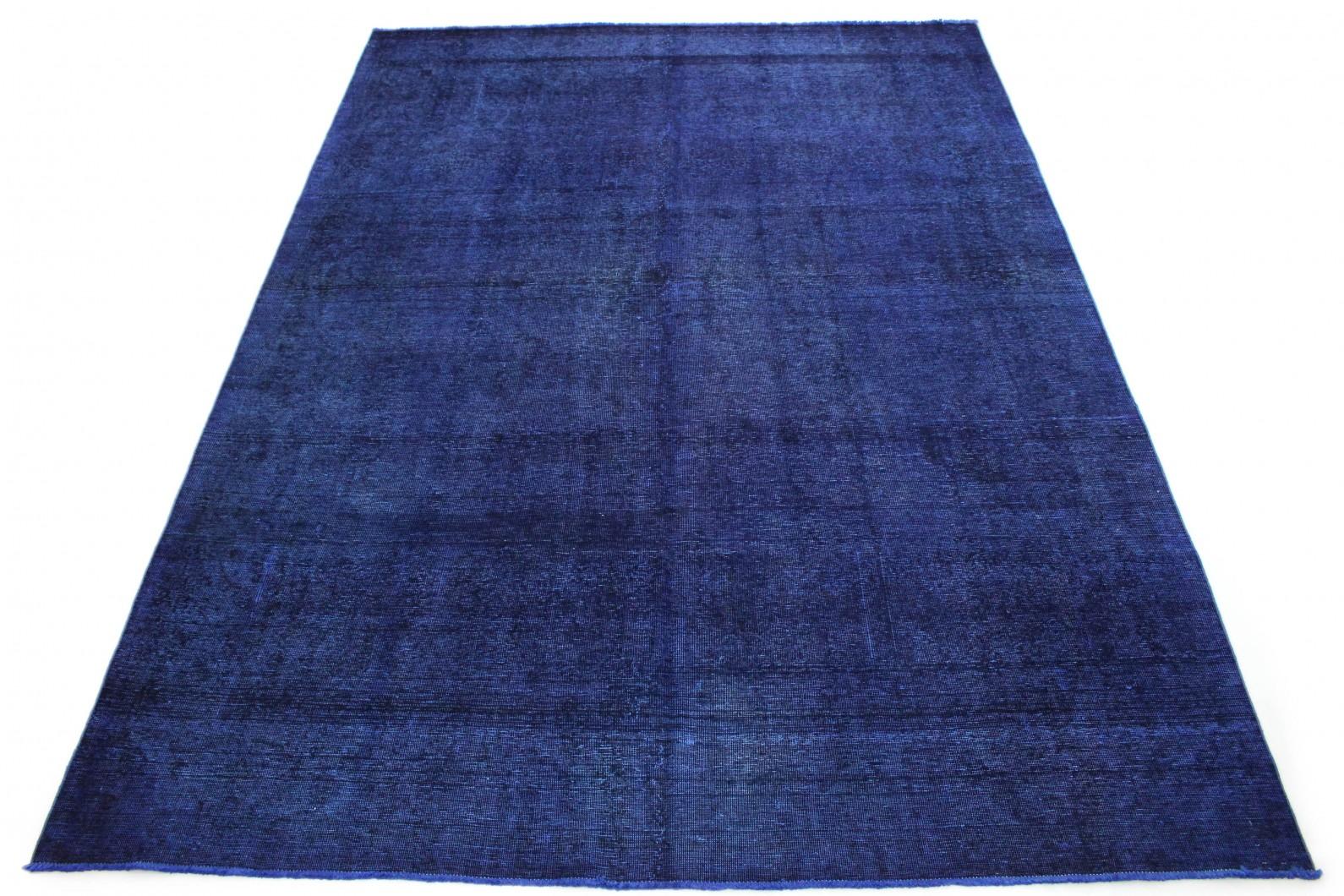 Vintage Teppich Blau Lila in 400x290 (1 / 6)