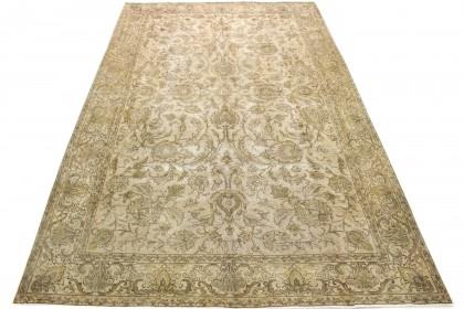 Vintage Teppich Beige Braun Grau in 480x290