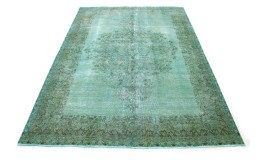 Vintage Rug Turquoise Green in 340x240